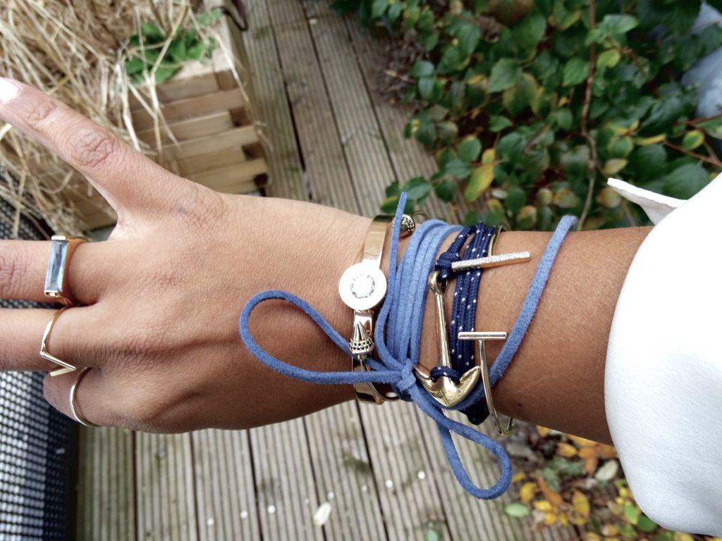 Cordons collier bijoux bracelet