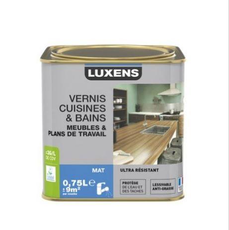 Vernis restauration bois Luxens