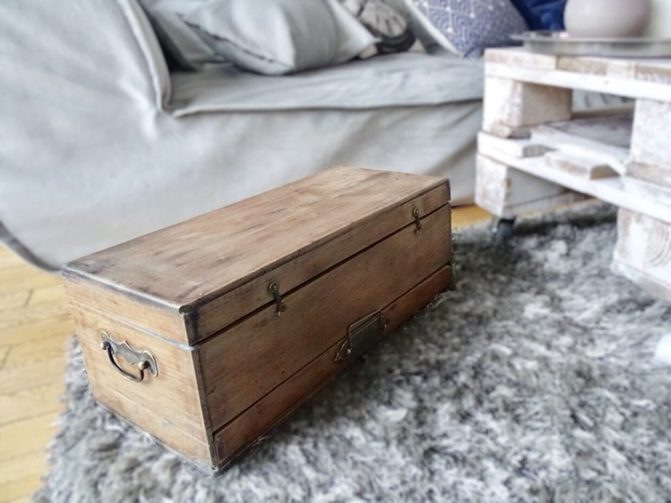Restaurer un coffre en bois