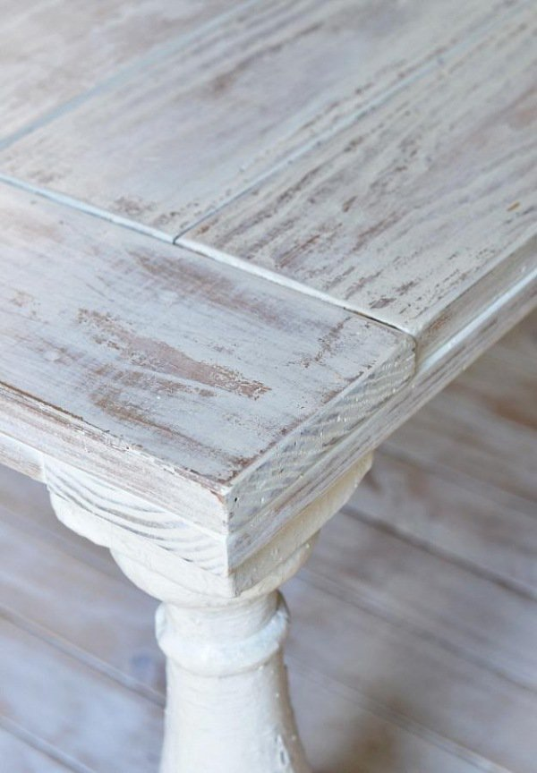 Restaurer le bois - décoration